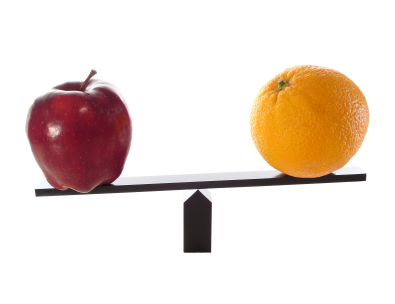 comparing credit reports