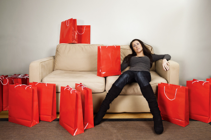 Shopping exhaustion, credit counseling