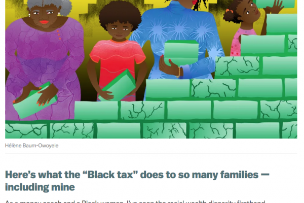 "Here's what the ""Black tax"" does to so many families (Vox)"
